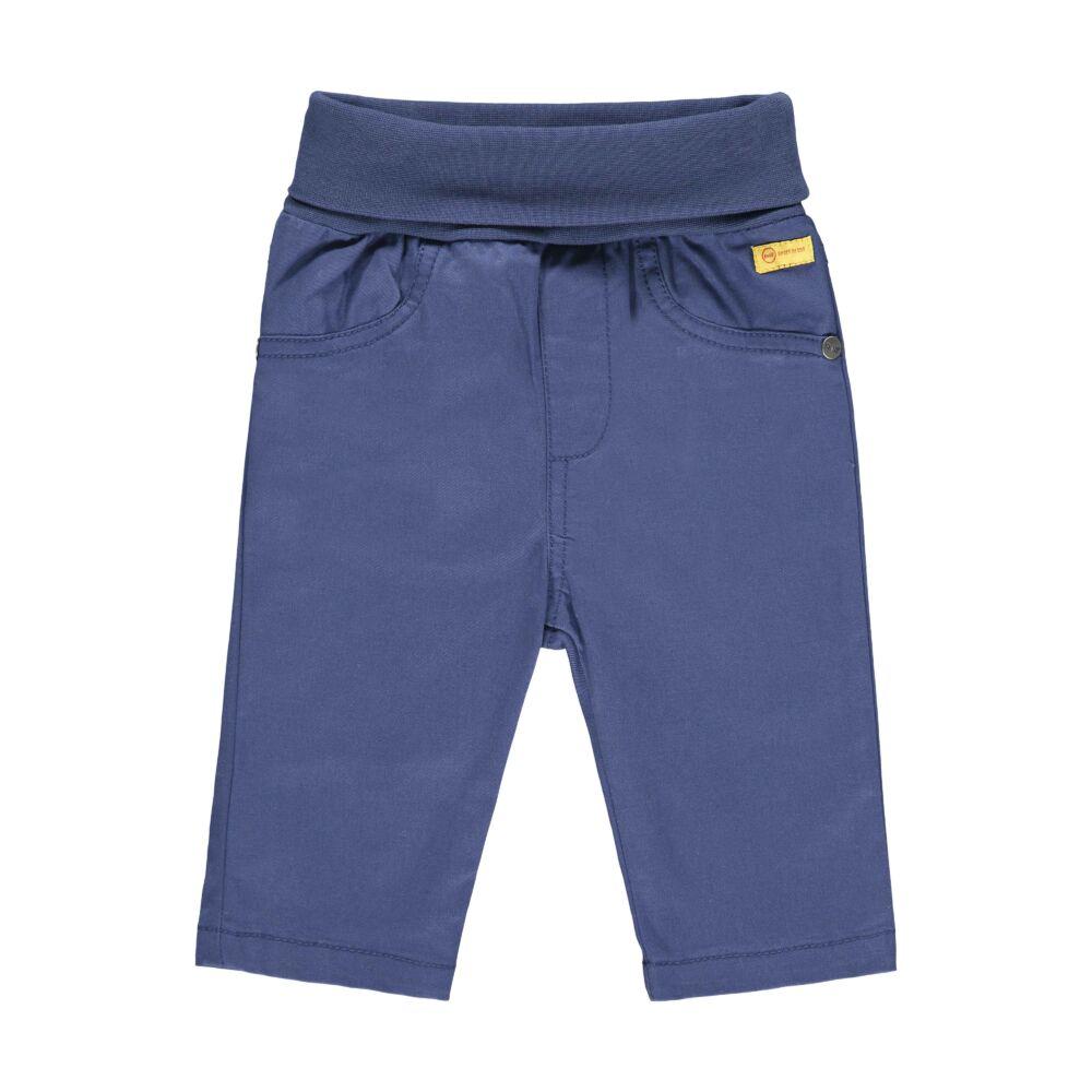 Steiff pocakpántos pamut baba nadrág- Baby Boys - High 5! kollekcó kék    Bunny and Teddy