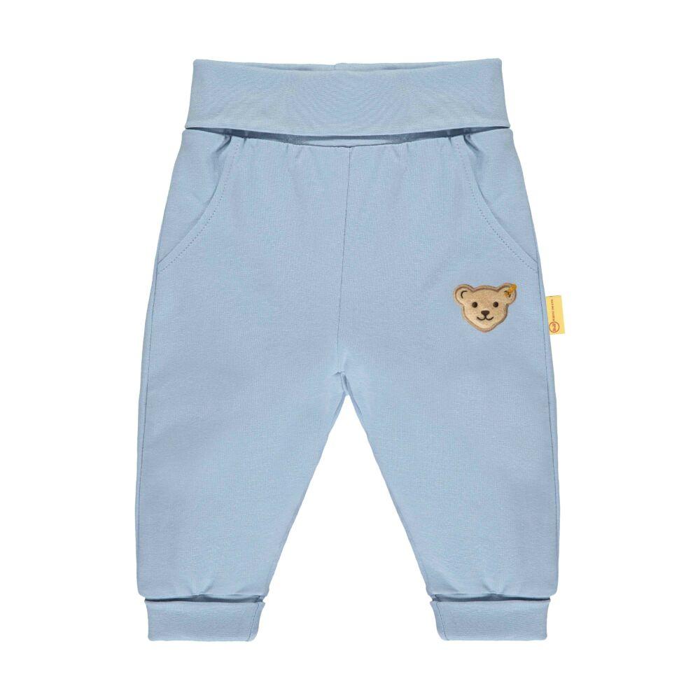 Steiff pamut melegítő alsó- Baby Boys - High 5! kollekcó világos kék  | Bunny and Teddy