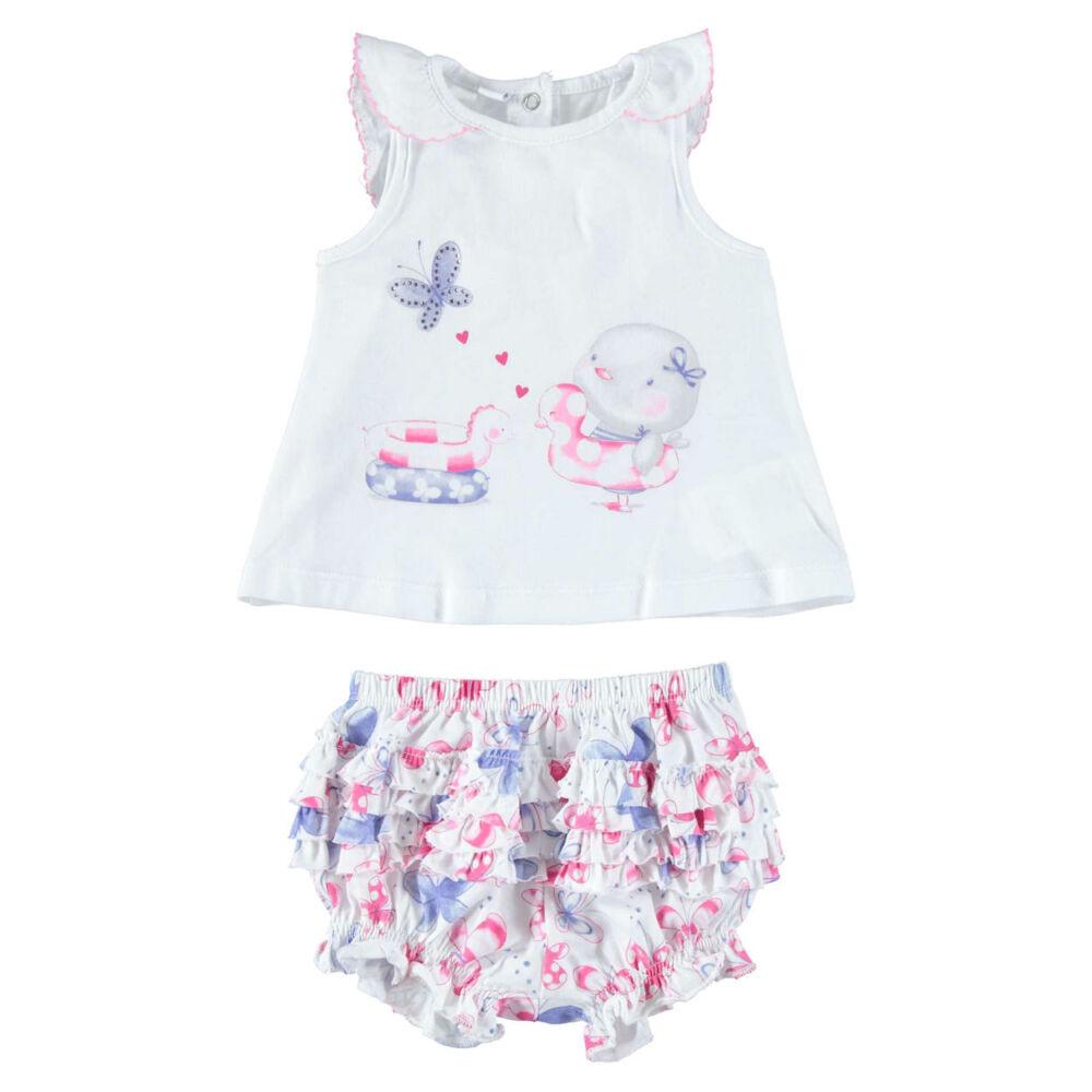 iDO póló és rövidnadrág szett - világos rózsaszín - Bunny and Teddy