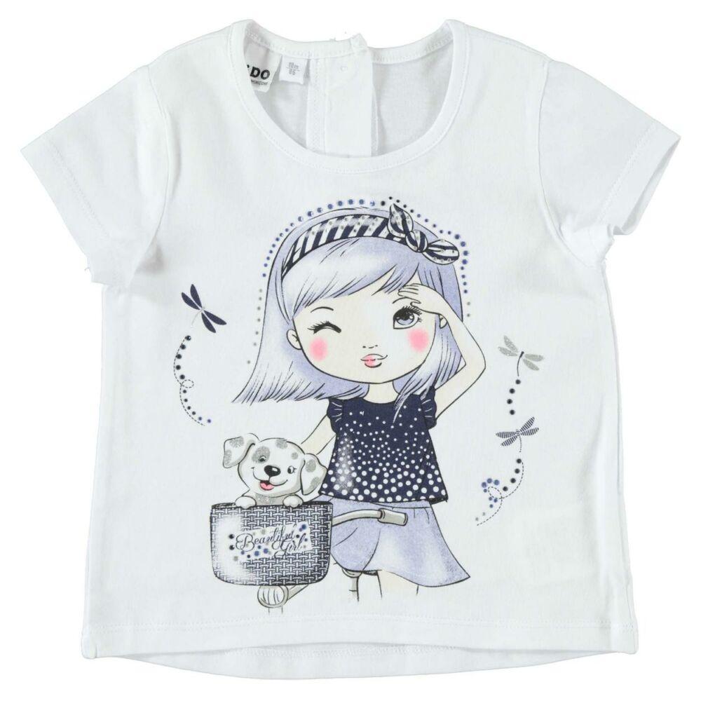 iDO rövid ujjú póló - fehér - Bunny and Teddy