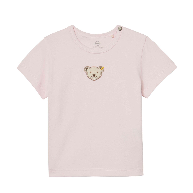 b0cfe6ab79 Steiff rövid ujjú póló biopamutból- világos rózsaszín- Bunny and Teddy Katt  rá a felnagyításhoz