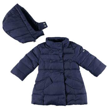 iDO pehelytoll hosszú kabát lecsatolható kapucnival