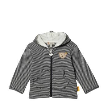 Steiff vékony pamut kapucnis kabát- Basic kollekció