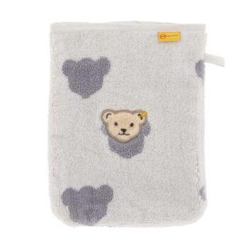 Steiff mosdókesztyű- Basic kollekcó fehér  | Bunny and Teddy
