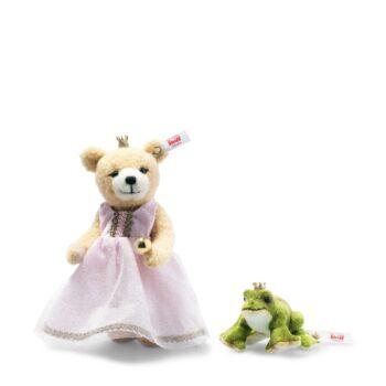 Steiff békakirály  és hercegnő - Mesevilág kollekció