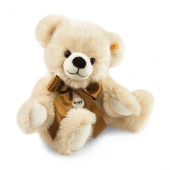 Steiff Bobby Teddy maci - forgathó karokkal - krém - Bunny and Teddy