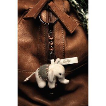 Steiff Elefánt kulcstartó - szürke - Bunny and Teddy