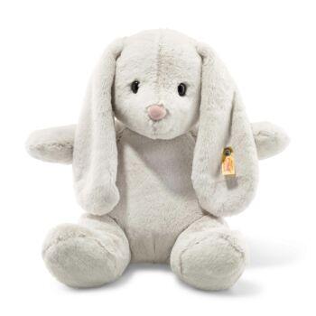 Hoppie plüss nyuszi Soft Cuddly Friends Hoppie rabbit, light grey - fehér - Bunny and Teddy