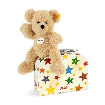 Steiff Fynn Teddy maci bőröndben