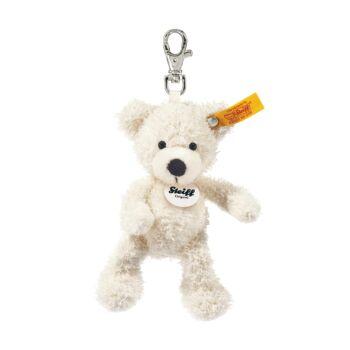 Steiff Lotte Teddy maci kulcstartó - fehér - Bunny and Teddy