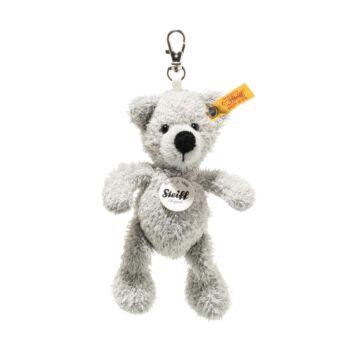 Steiff Fynn Teddy maci szürke kulcstartó