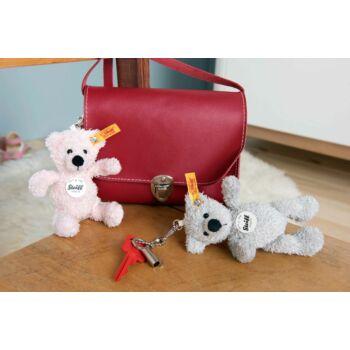 Steiff Lotte Teddy maci kulcstartó - rózsaszín - Bunny and Teddy
