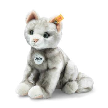 Steiff Filou cica, szürke melírral