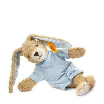 Steiff Hoppel nyuszi biopamutból - kék - Bunny and Teddy