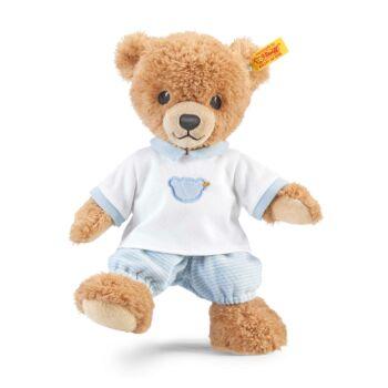 """Steiff """"aludj jól"""" maci - kék - Bunny and Teddy"""