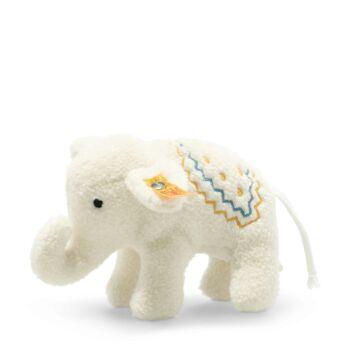 Steiff elefánt csörgő - jubileumi kiadás csecsemőknek