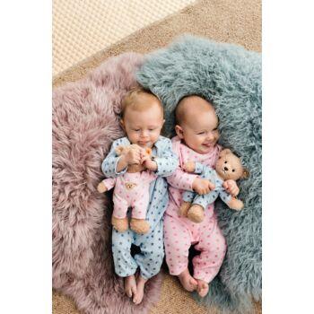 """Steiff """"A macim és én"""" kislány maci pizsamában - rózsaszín - Bunny and Teddy"""