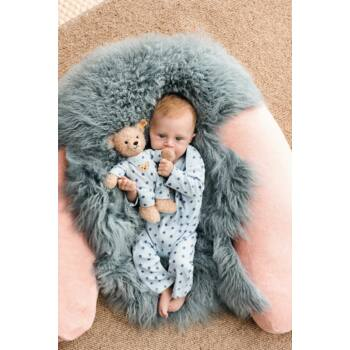 "Steiff ""A macim és én"" kisfiú maci pizsamában - világoskék - Bunny and Teddy"