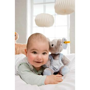 "Steiff ""Trampili baby elefánt"" - kék - világoskék - Bunny and Teddy"