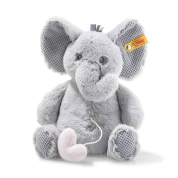 Steiff Soft Cuddly Friends zenélő Ellie elefánt