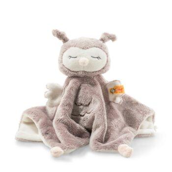 Steiff Ollie bagoly szundikendő - Soft Cuddly Friends kollekció - rózsaszín - Bunny and Teddy