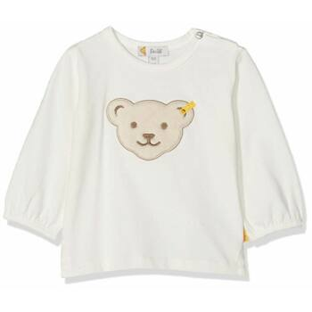 Steiff hosszú ujjú póló - krém - Bunny and Teddy