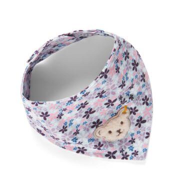 Steiff háromszög alakú kendő, sál, tépőzárral - Baby Girls - Wildberry kollekció