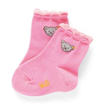 Steiff zokni - rózsaszín - Bunny and Teddy