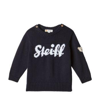 Steiff kötött pulóver - Baby Boys - Blue Winter kollekció