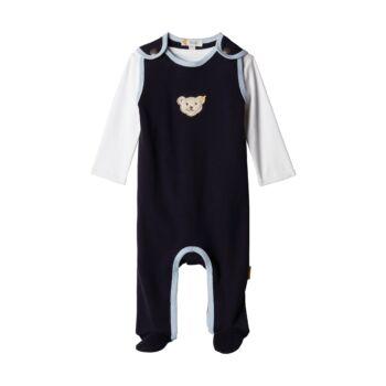 Steiff 2 részes szett (rugdalózó és hosszú ujjú póló) - Baby Boys - Blue Winter kollekció