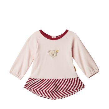 Steiff hosszú ujjú póló - világos rózsaszín - Bunny and Teddy