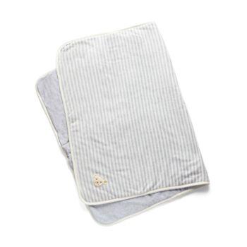 Steiff biopamut (GOTS) takaró, pléd puha plüssből díszdobozban, 95cm x 65 cm