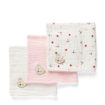 Steiff biopamut (GOTS) textilpelenka díszdobozban