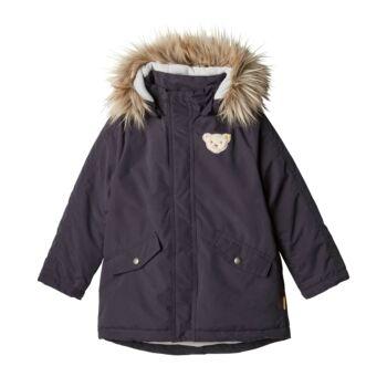 Steiff parka kabát - Mini Boys - Blue Stripe kollekció