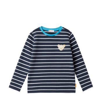 Steiff pulóver - Mini Boys - Blue Stripe kollekció