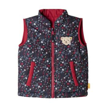Steiff mindkét oldalán hordható steppelt kabát - Mini Girls - Blueberry H kollekció