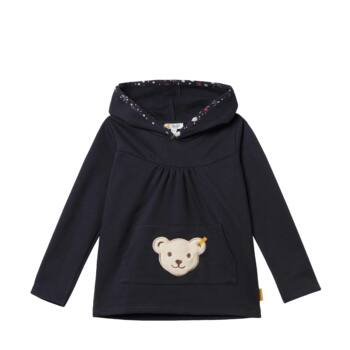 Steiff kapucnis pulóver - Mini Girls - Blueberry H kollekció