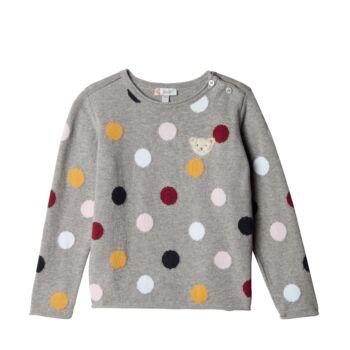 Steiff Kötött pulóver - Mini Girls - Blueberry H kollekció