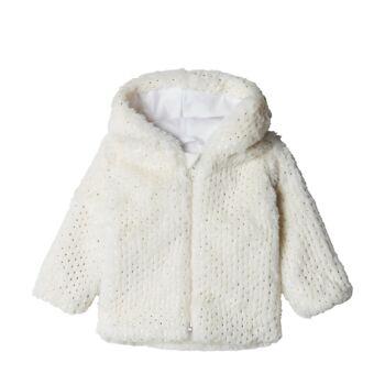 Steiff csillogó kabátka, kardigán - krém - Bunny and Teddy
