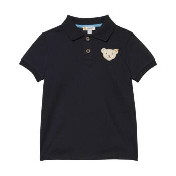 Steiff rövid ujjú galléros póló - Mini Boys - Modern Maritime kollekció