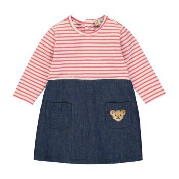 Steiff hosszú ujjú kislány ruha  - Bear in my heart kollekció