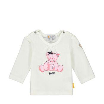 Steiff kislány hosszú ujjú póló masnis macival az elején - Bear in my heart kollekció