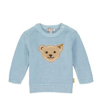 Steiff kötött baba pulóver  - Bear Blues kollekció