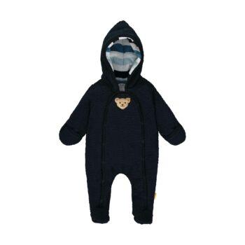 Steiff kisfiú overál puha polár fleece anyagból - Bear Blues kollekció