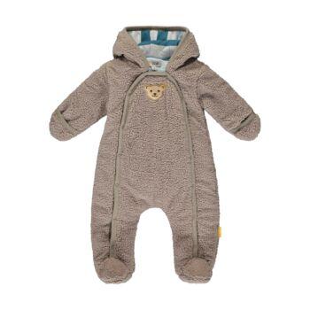 Steiff kisfiú overál puha polár fleece anyagból - Bear Blues kollekció-sötét kék/fekete-Bunny and Teddy