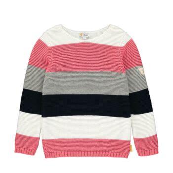 Steiff kötött csíkos pulóver kislányoknak - Heartbeat kollekció