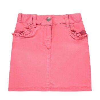 Steiff rózsaszín szoknya fodrokkal és rugalmas derékpánttal - Heartbeat kollekció