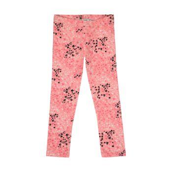 Steiff leggings szívecskés mintával kislányoknak - Heartbeat kollekció-pink-Bunny and Teddy