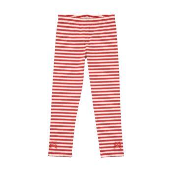 Steiff csíkos leggings kislányoknak - Heartbeat kollekció-krém-Bunny and Teddy