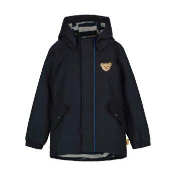 Steiff átmeneti kabát kisfiúknak szél- és vízálló impregnálással - Go Bear Go kollekció
